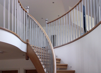 ... This Assembly Of The Staircase Has Proven To Give The Client The  Highest Quality Staircase And The Least Effort For The Fitter On The Site.