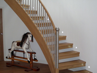 When Considering A New Or Replacement Staircase It Can, At First, Appear To  Be A Complicated Task. Before Deciding Upon The Decorative Features And  Finishes ...